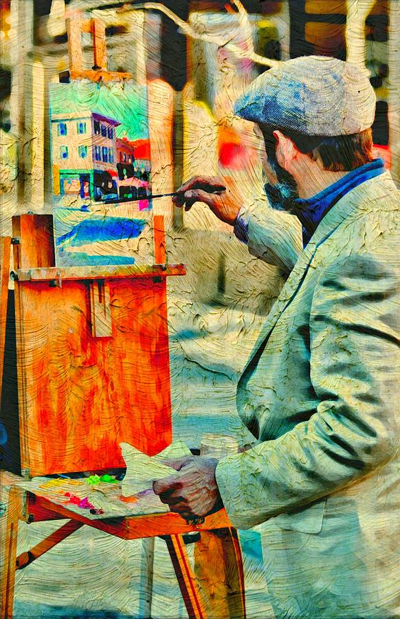 Artist Photograph - The Artist by Diana Angstadt