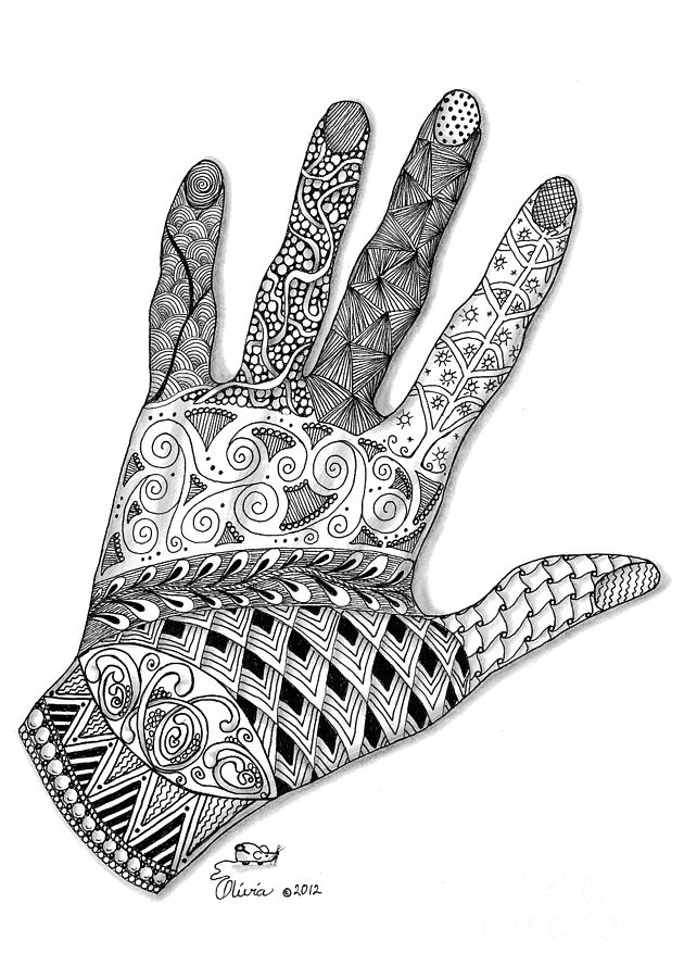 The Artists Hand Drawi...