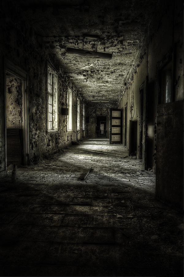 The Asylum Project - Corridor Of Terror Photograph  - The Asylum Project - Corridor Of Terror Fine Art Print