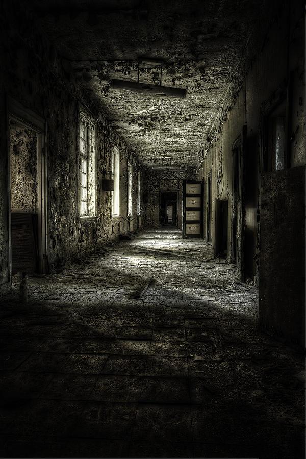 Asylum Photograph - The Asylum Project - Corridor Of Terror by Erik Brede
