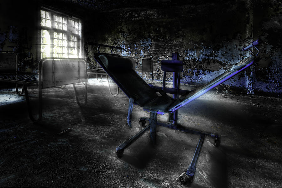 The Asylum Project - Have A Seat Photograph  - The Asylum Project - Have A Seat Fine Art Print