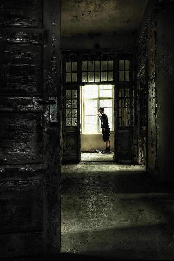 The Asylum Project - Looking Out At The World Photograph