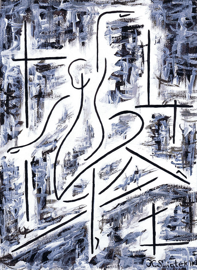 The Ballet Rehearsal Painting - The Ballet Rehearsal by Kamil Swiatek
