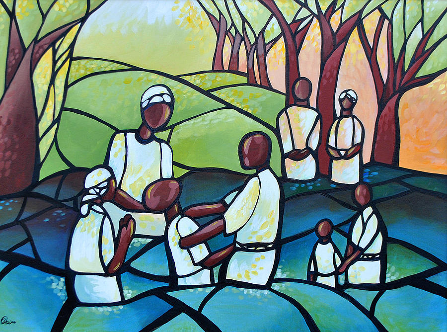 The Baptism Painting