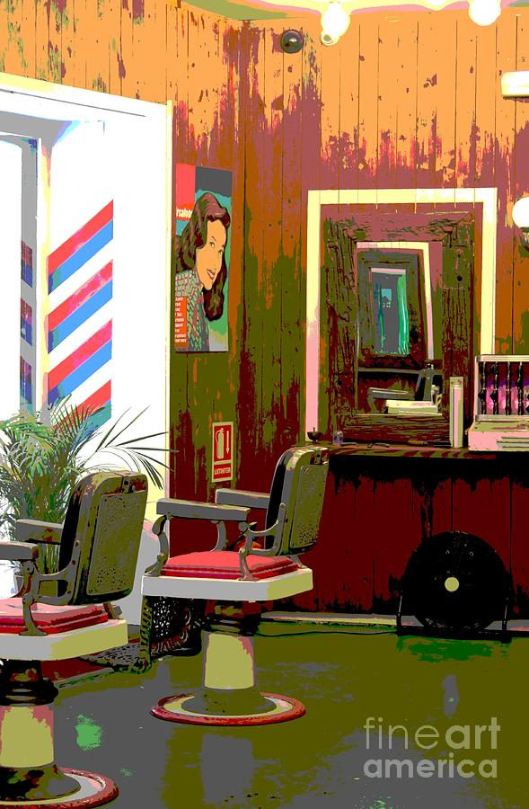The Barber Shop Photograph