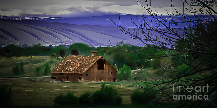 Barn Photograph - The Barn by Robert Bales