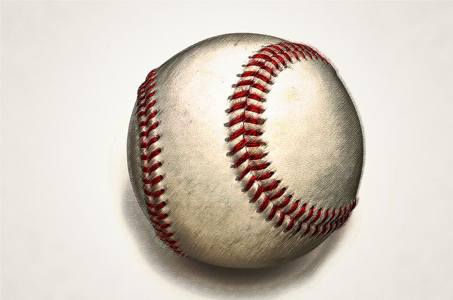 The Baseball Photograph  - The Baseball Fine Art Print