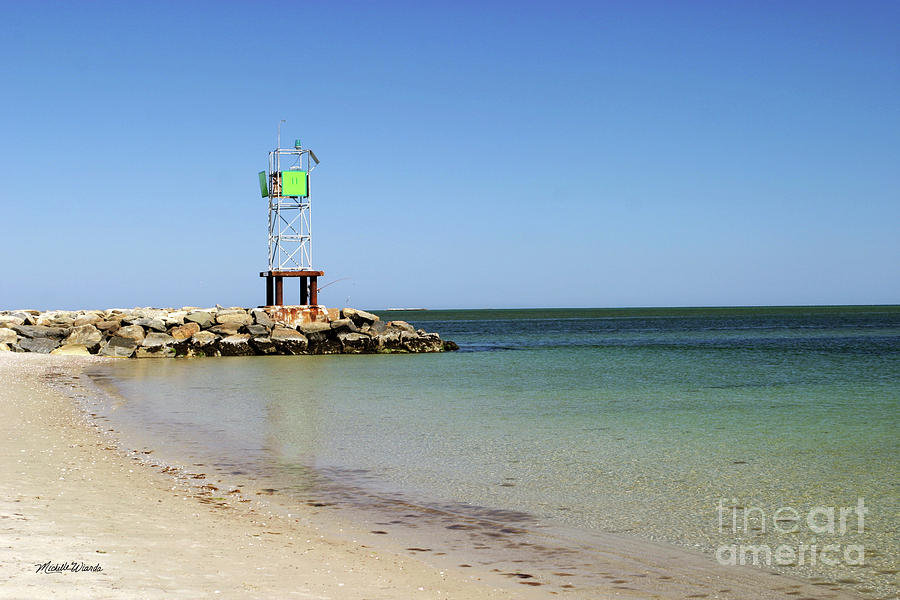 The Bass River Jetty South Yarmouth Cape Cod Massachusetts Photograph