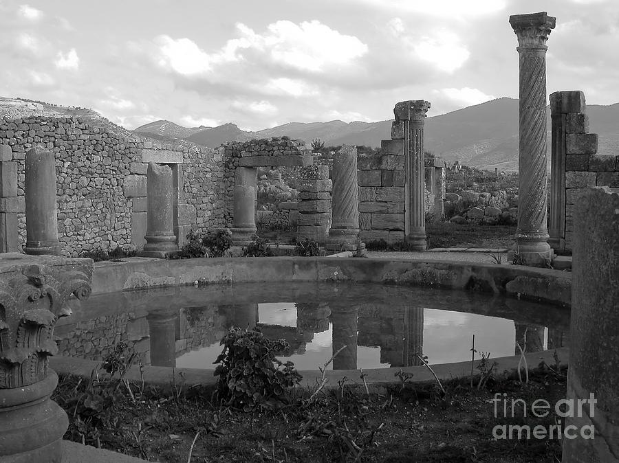 Black And White Photograph - The Baths by Sophie Vigneault