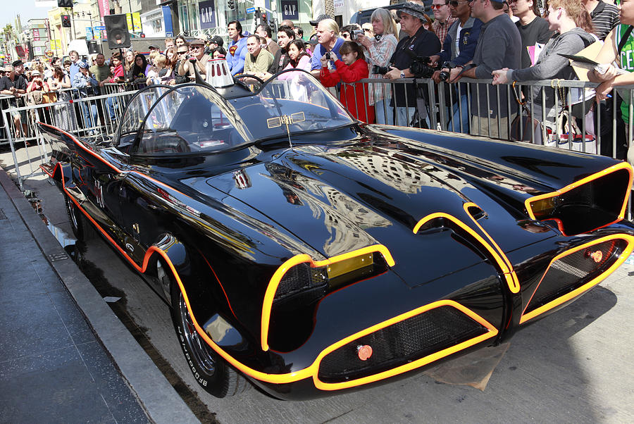 The Batmobile Photograph  - The Batmobile Fine Art Print