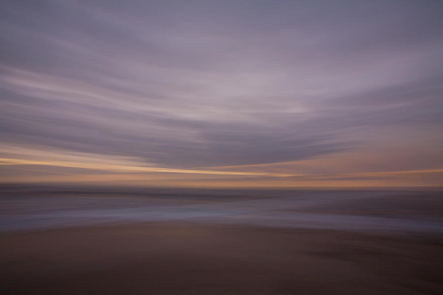 Abstract Photograph - The Beach by Peter Tellone