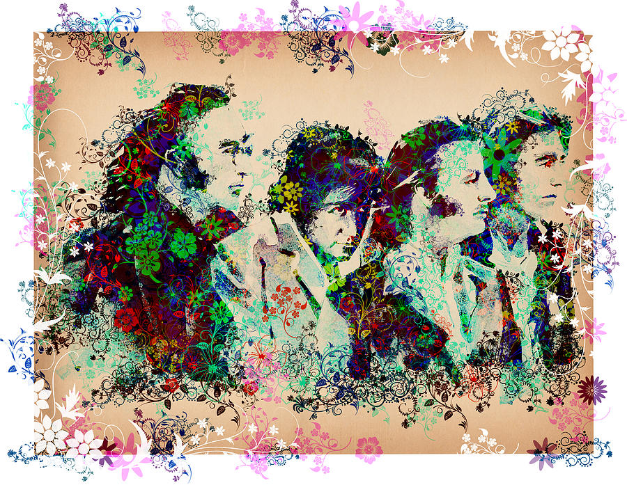 The Beatles 10 Painting