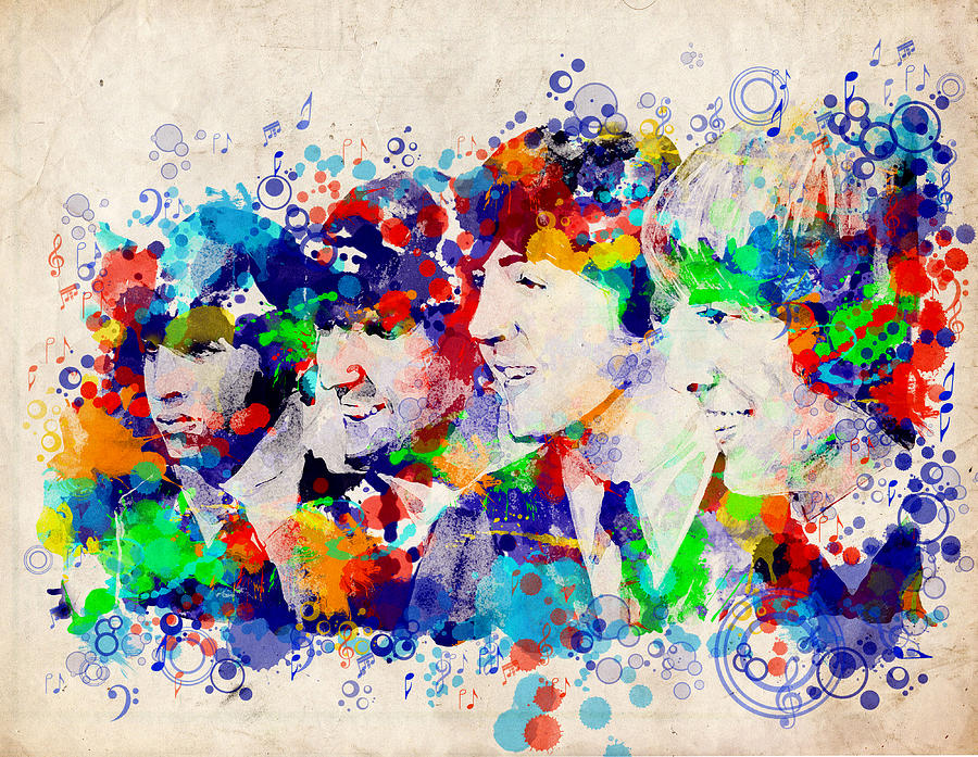 The Beatles 7 Painting