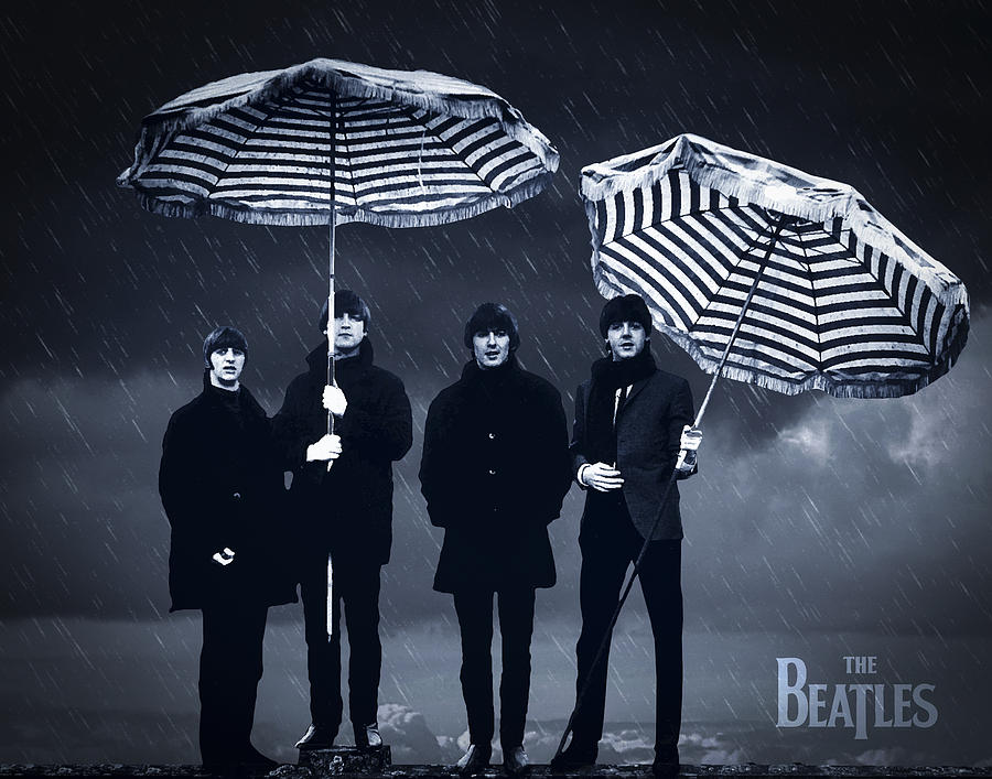 The Beatles In The Rain Drawing