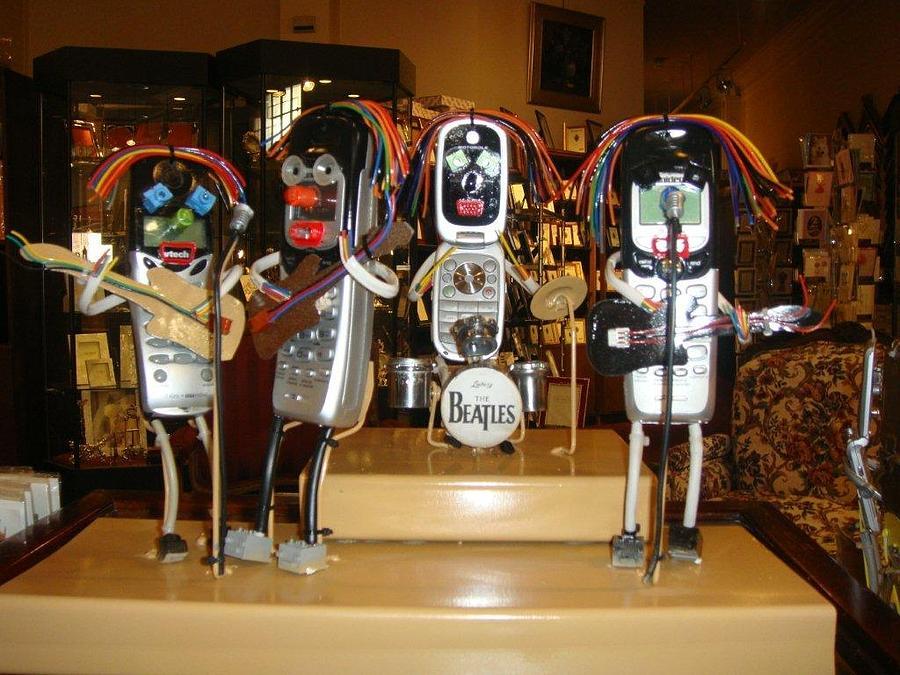 Beatles Sculpture - The Beatles by Jeff Zuck