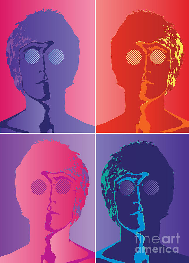 The Beatles No.10 Digital Art  - The Beatles No.10 Fine Art Print