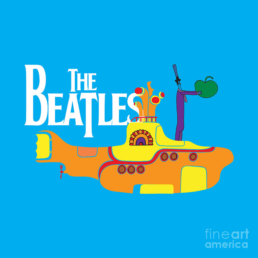 The Beatles No.11 Digital Art  - The Beatles No.11 Fine Art Print