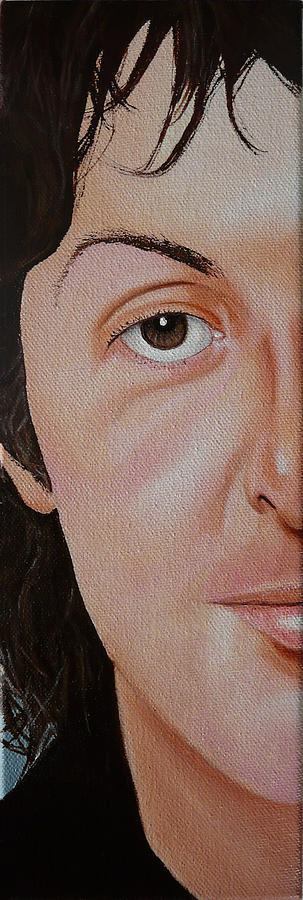 The Beatles Painting - The Beatles Paul Mccartney by Vic Ritchey