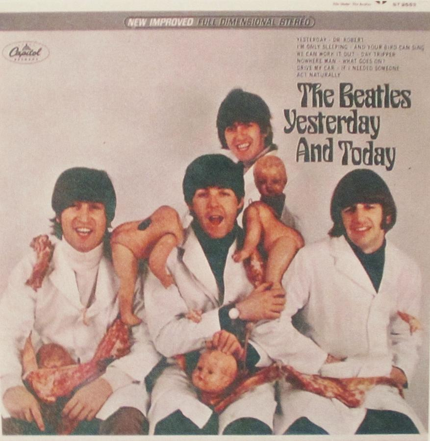 The Beatles Photograph - The Beatles Yesterday And Today Butcher Album Cover by Donna Wilson