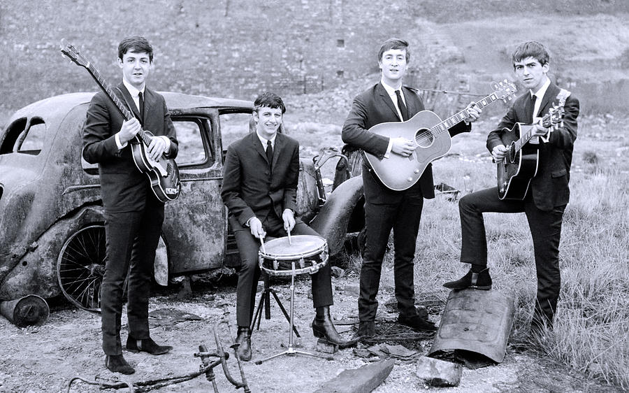 The Beatles Young Days Photograph