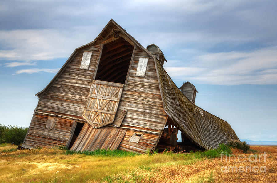 The Beauty Of Barns  Photograph