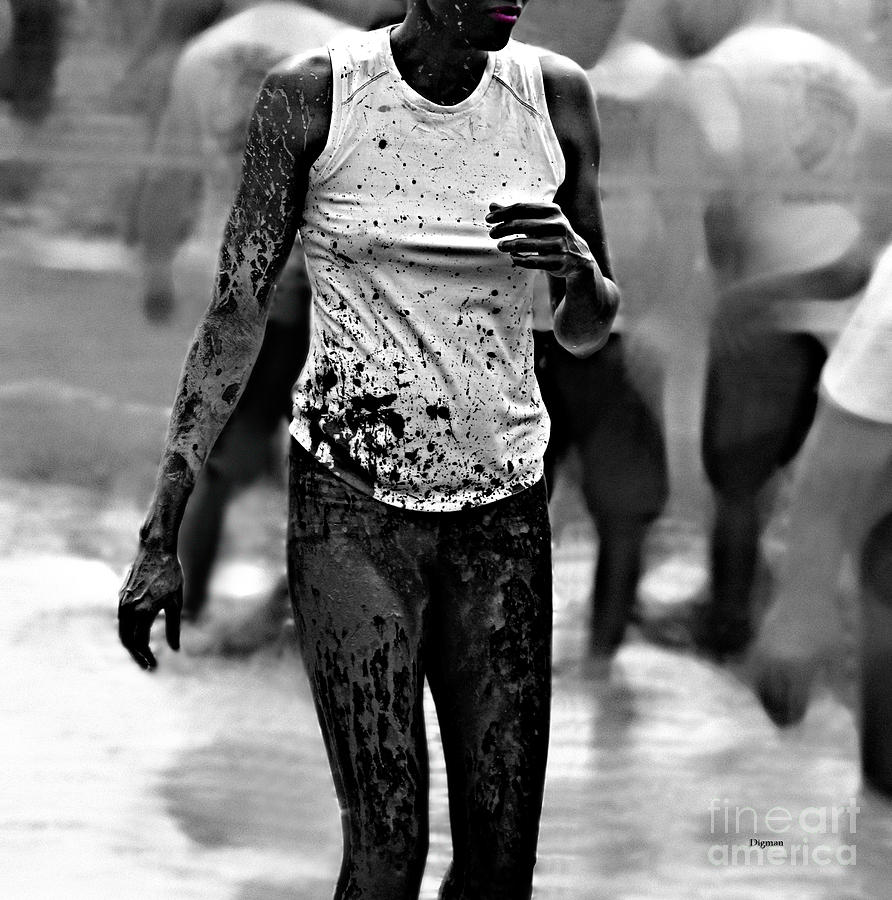 Beauty Photograph - The Beauty Of Mud  by Steven  Digman