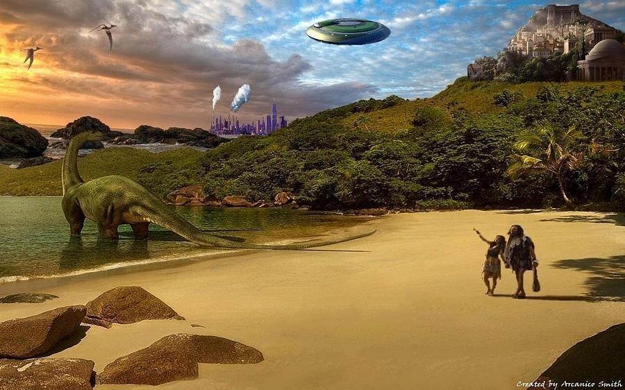 The Big Bang Civilizations Digital Art