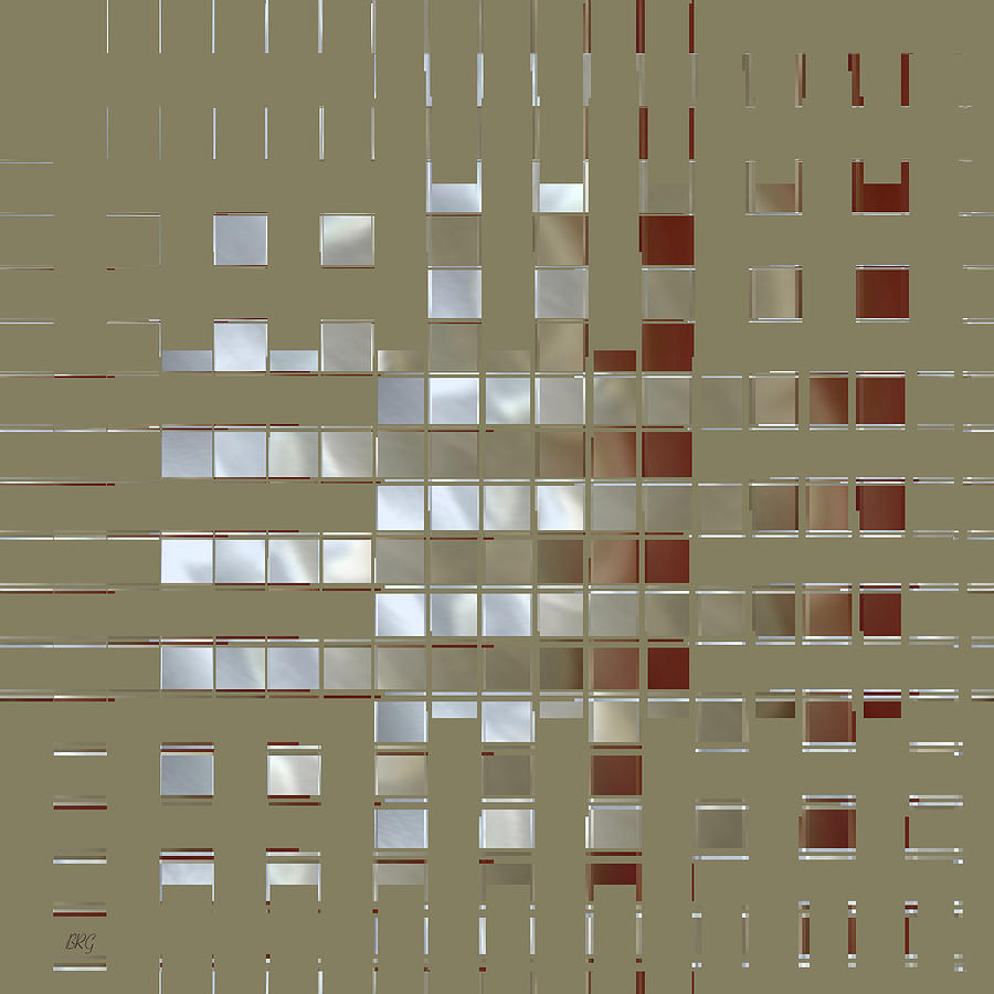 The Birth Of Squares No 1 Digital Art