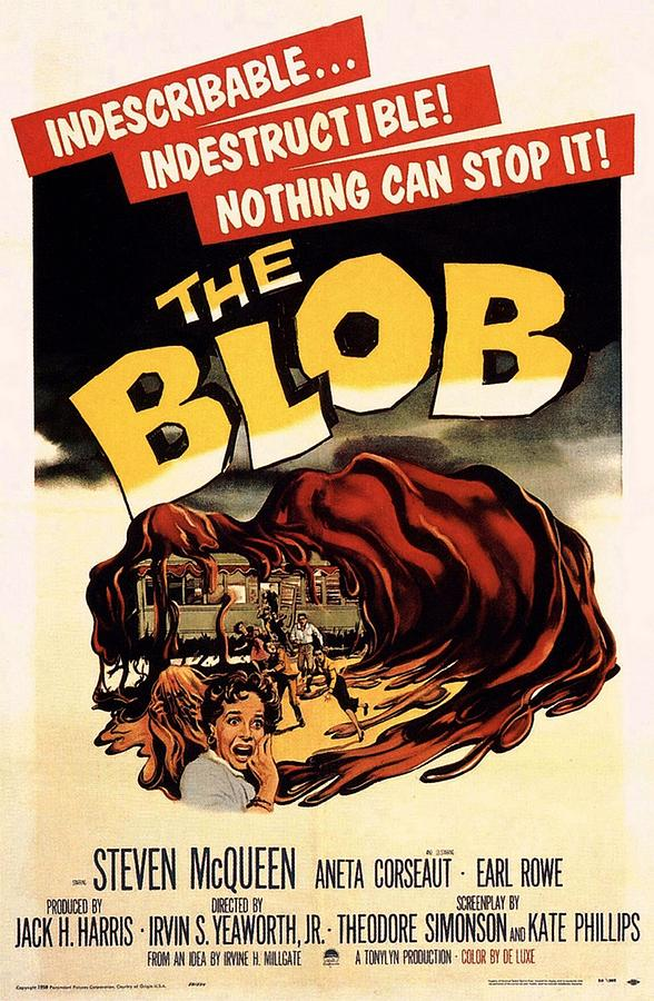 The Blob  Photograph  - The Blob  Fine Art Print