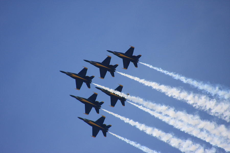 The Blue Angels Photograph  - The Blue Angels Fine Art Print