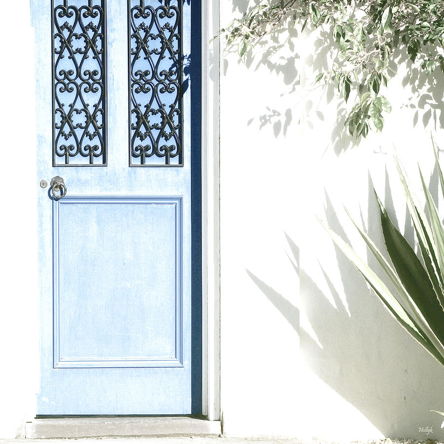 The Blue Door Photograph  - The Blue Door Fine Art Print
