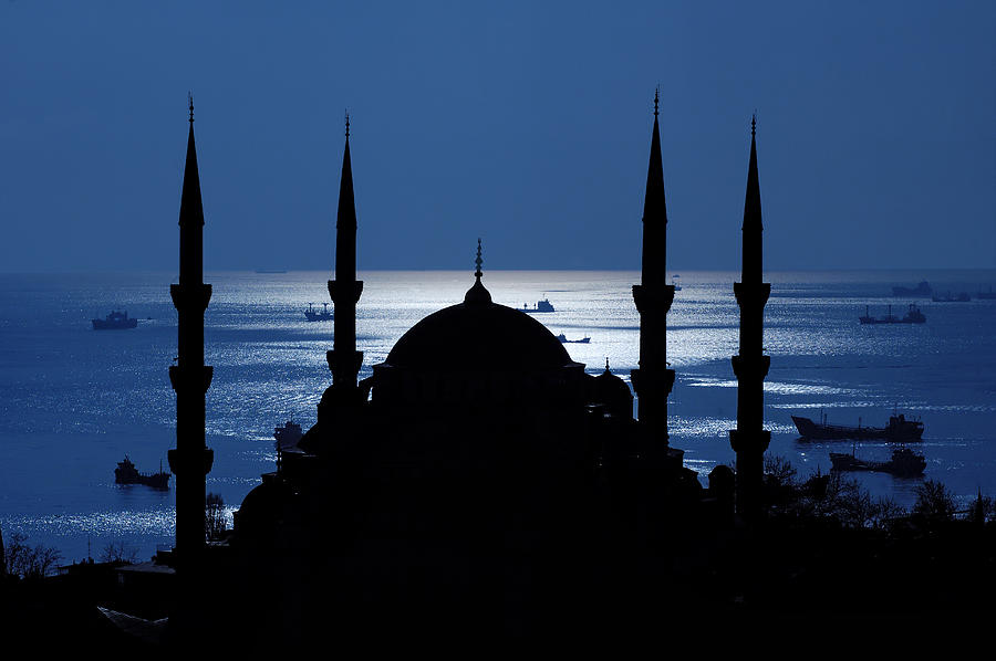 Istanbul Photograph - The Blue Mosque by Ayhan Altun