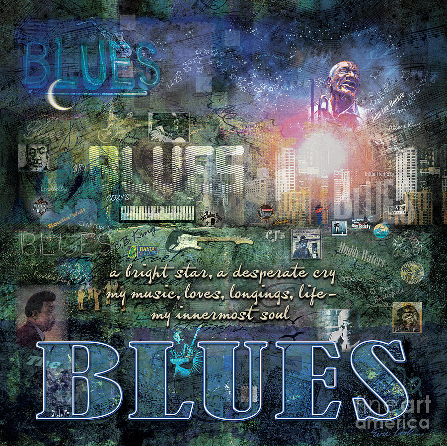The Blues Digital Art