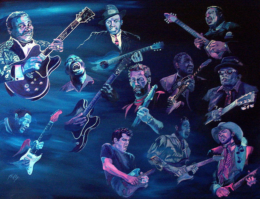 The Blues Painting