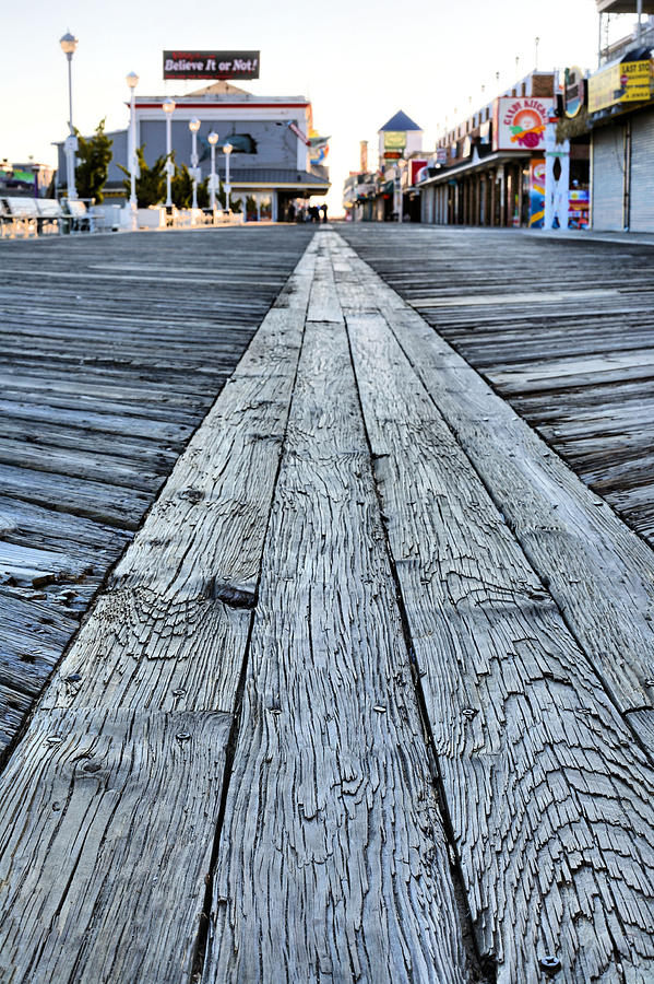The Boardwalk Photograph - The Boardwalk by JC Findley