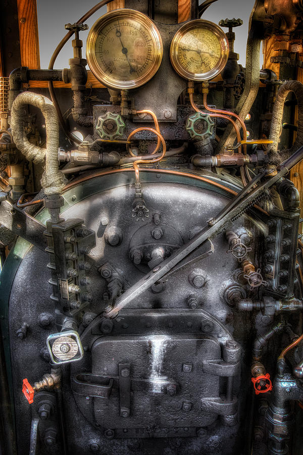 The Boiler Photograph  - The Boiler Fine Art Print