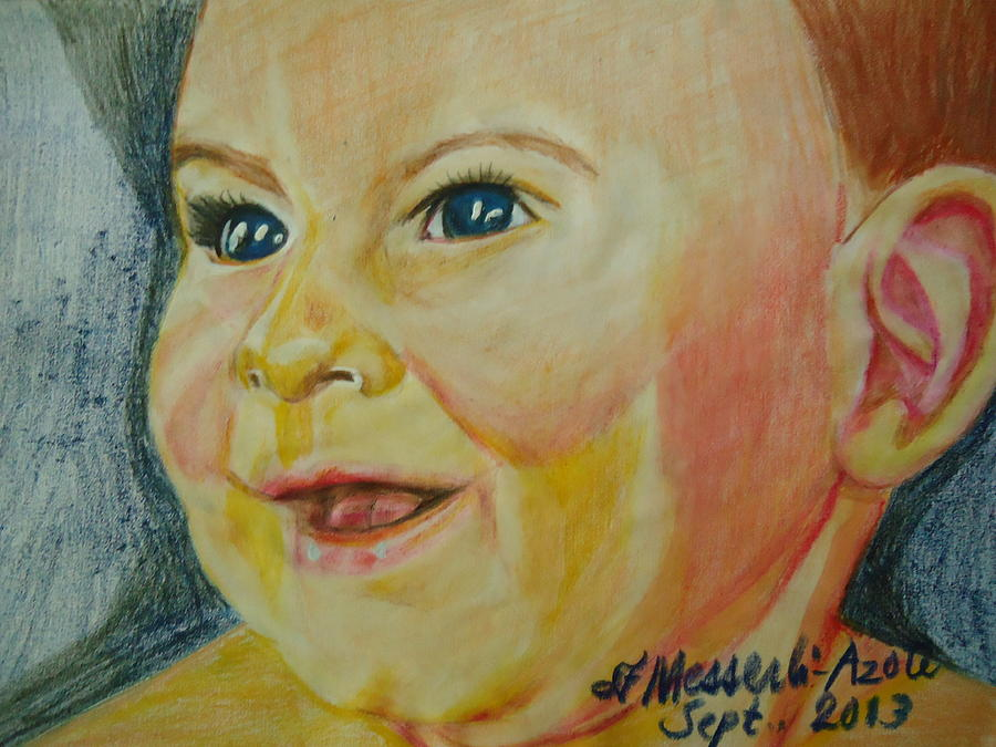 Beautiful Painting - The Boy  by Fladelita Messerli-