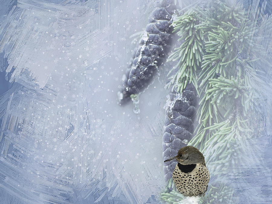 The Breath Of Old Man Winter Photograph  - The Breath Of Old Man Winter Fine Art Print