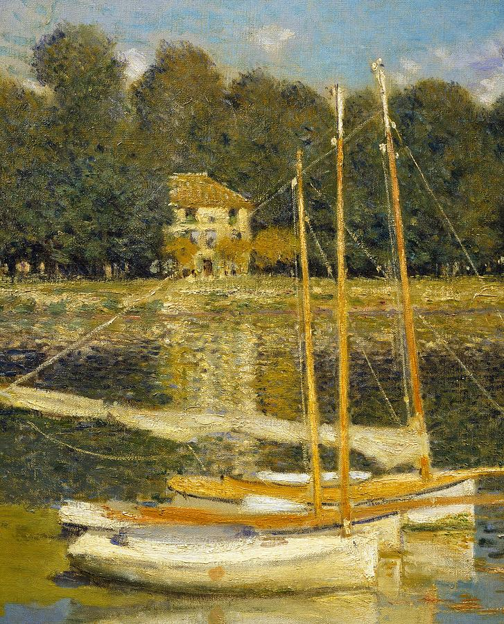 The Bridge At Argenteuil Painting