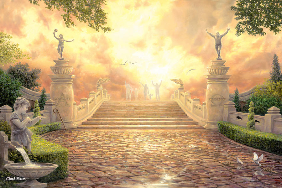 The Bridge Of Triumph Painting