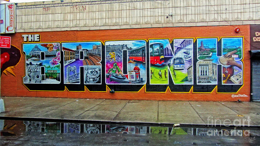 The Bronx Graffiti is a photograph by Nishanth Gopinathan which was ...