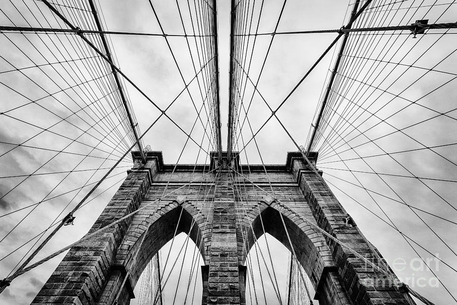 The Brooklyn Bridge Photograph  - The Brooklyn Bridge Fine Art Print