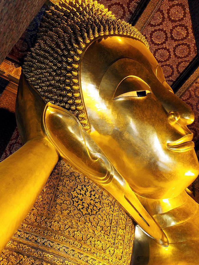 The Buddha Reclines Photograph