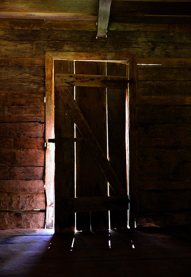 The Cabin Door Photograph  - The Cabin Door Fine Art Print
