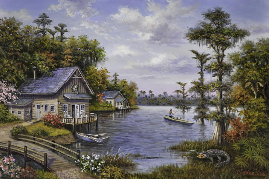 The Cabin In The Swamp Land by Charles Kim: fineartamerica.com/featured/the-cabin-in-the-swamp-land-charles-kim...