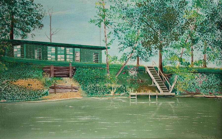 The Cabin Painting  - The Cabin Fine Art Print