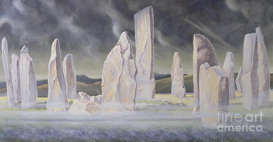 The Callanish Legend Isle Of Lewis Painting