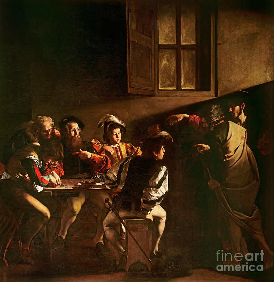 The Calling Of St Matthew Painting