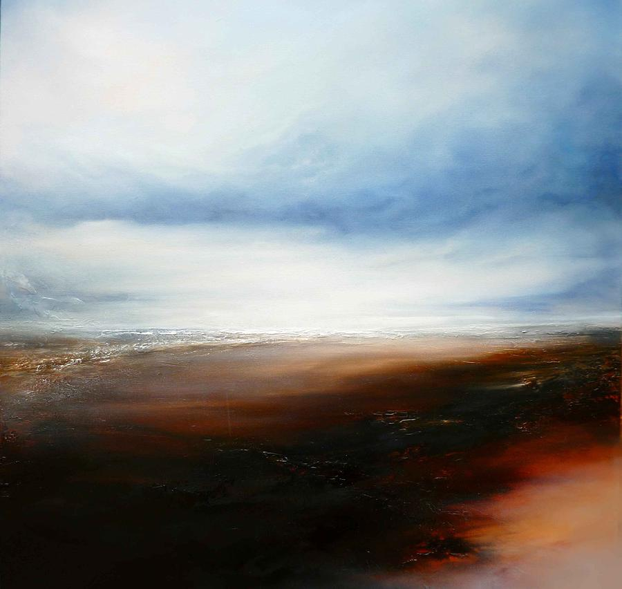 Landscapes Painting - The Calling Shores by Simon Kenny