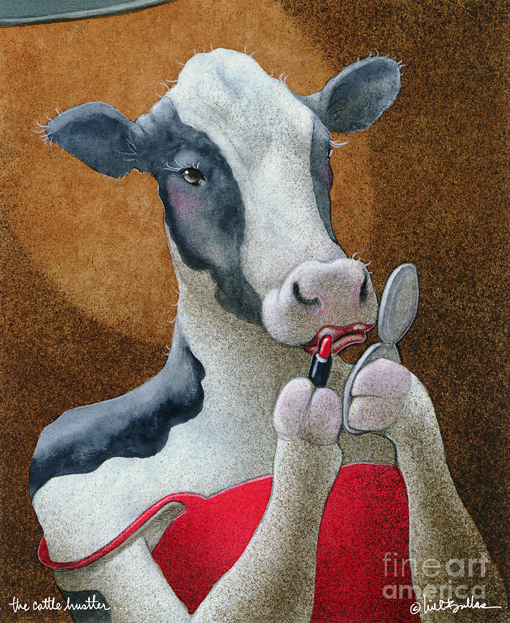 The Cattle Hustler... Painting
